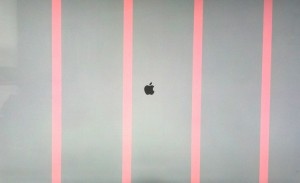 iMac Screen With a Bad Video Card