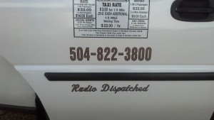 New Orleans White Fleet Taxi Service