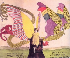 Henry Darger Collage