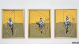"""""""I always think of myself not so much as a painter but as a medium for accident and chance."""" - Francis Bacon"""