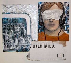 #LikeUs, Matthew White, Mixed Media Contemporary Art, 2014