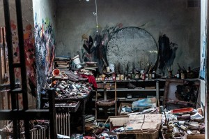 Francis Bacon's Reece Mews studio