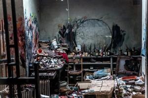 Francis Bacon's Reece Mews studio