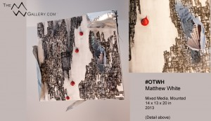 #OTWH - contemporary art by emerging artist Matthew White.