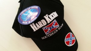 Hard kicking southern rock hat made in China.